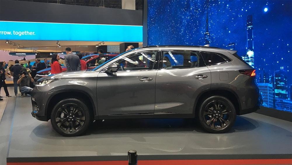 18648 Обзор автомобиля Chery Exeed TX 2018
