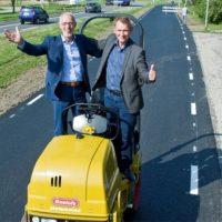 18776 Нанотехнологии: голландцы построили дорогу из использованной туалетной бумаги