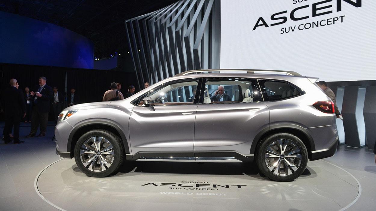 Обзор автомобиля Subaru Ascent 2017-2018