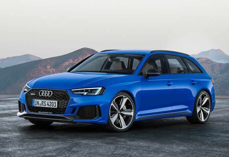 19450 Обзор автомобиля Audi RS4 Avant 2018 - 2019