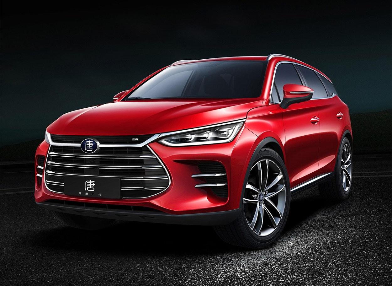 Обзор автомобиля BYD Tang 2018 — 2019
