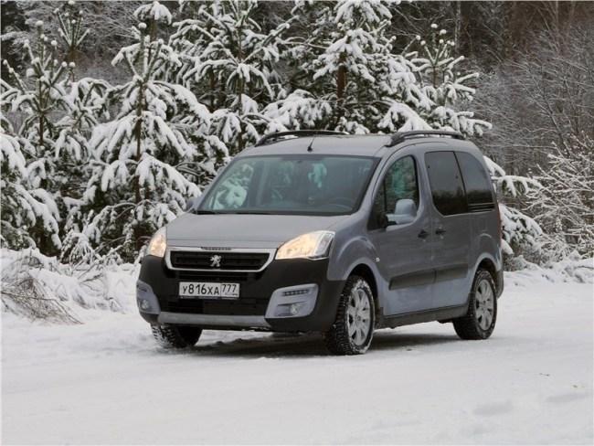 Движение и эмоции. Peugeot Partner Tepee