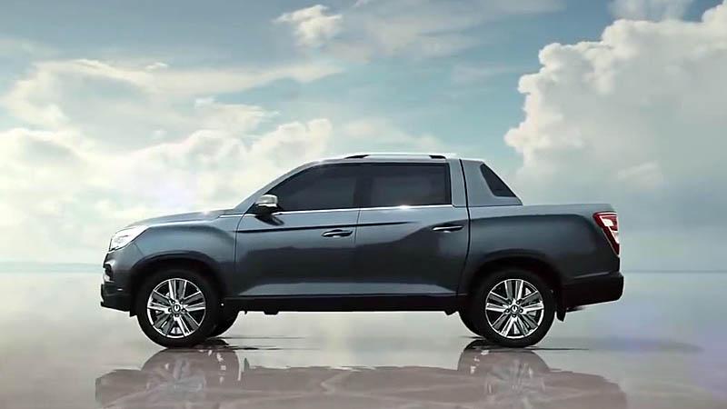 Обзор автомобиля SsangYong Rexton Sports 2018
