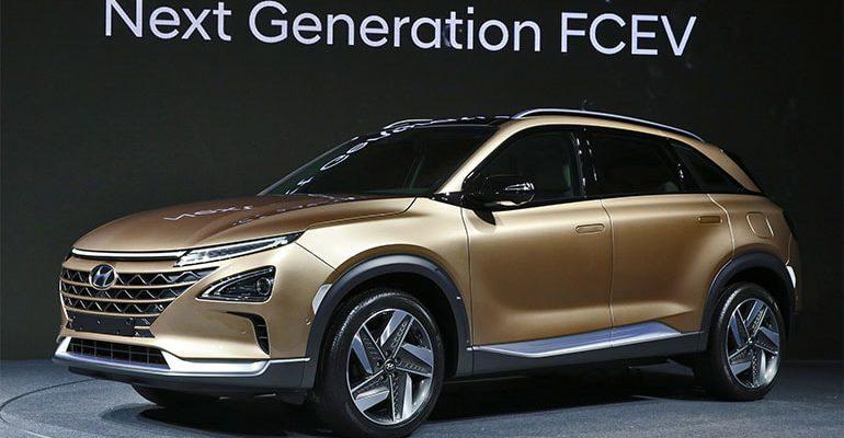 19578 Обзор автомобиля Hyundai FCEV 2018 - 2019