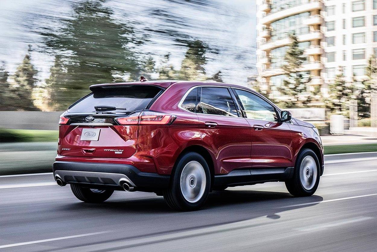 Обзор автомобиля Ford Edge 2019