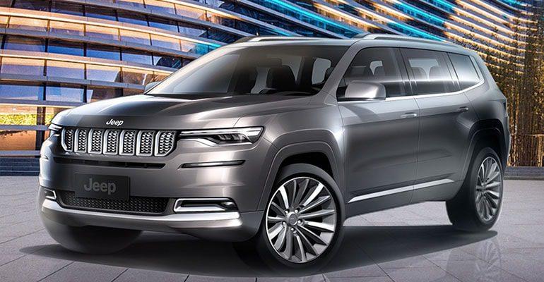 Обзор автомобиля Jeep Grand Commander 2018 – 2019
