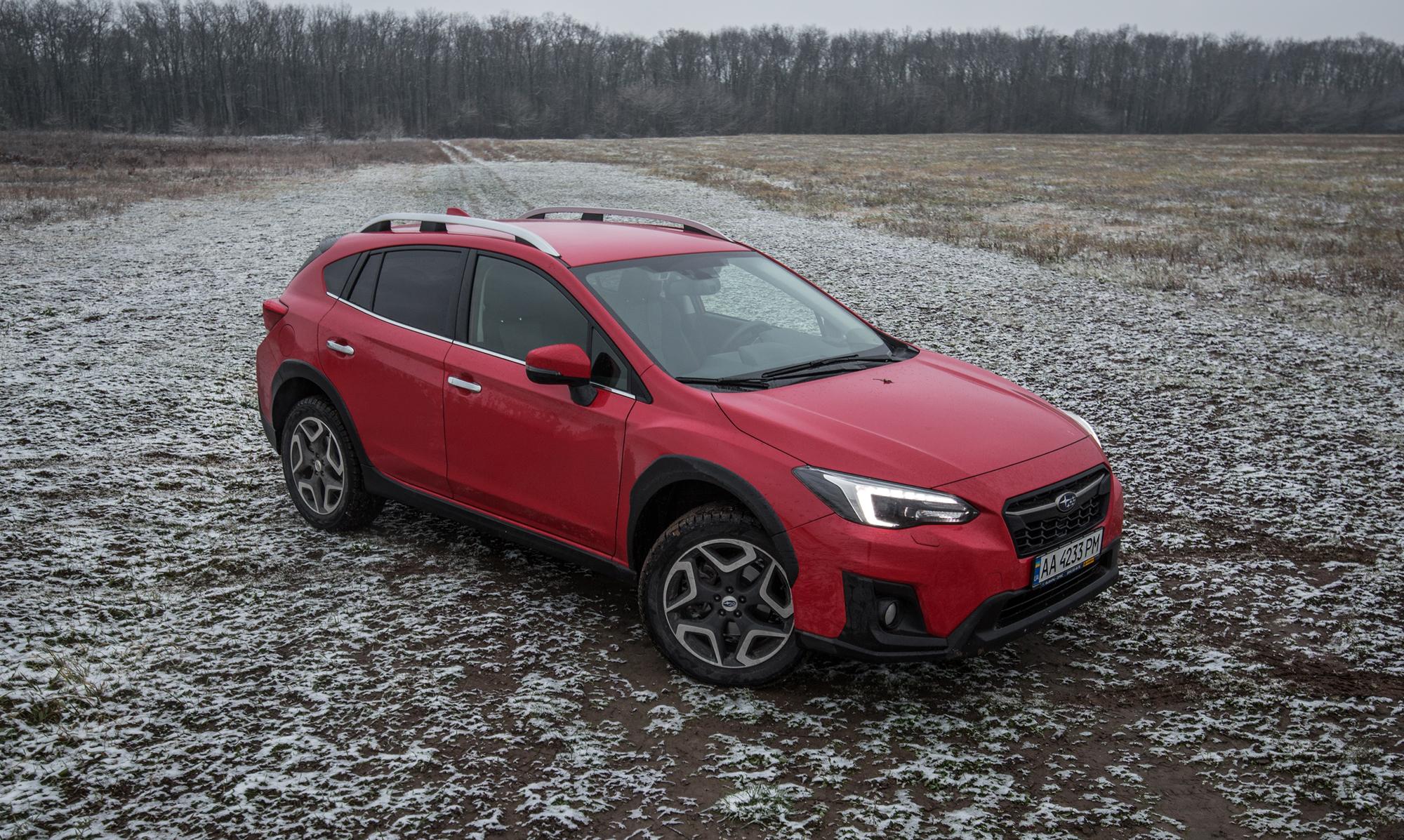 Subaru XV 2017. Тест-драйв