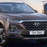 19958 Обзор автомобиля Hyundai Santa Fe 2019