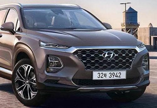 Обзор автомобиля Hyundai Santa Fe 2019