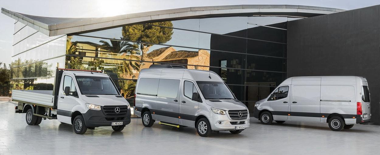 Обзор автомобиля Mercedes-Benz Sprinter 2018