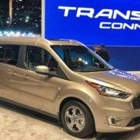 19996 Обзор автомобиля Ford Transit Connect Wagon 2018 - 2019