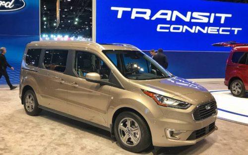 Обзор автомобиля Ford Transit Connect Wagon 2018 — 2019