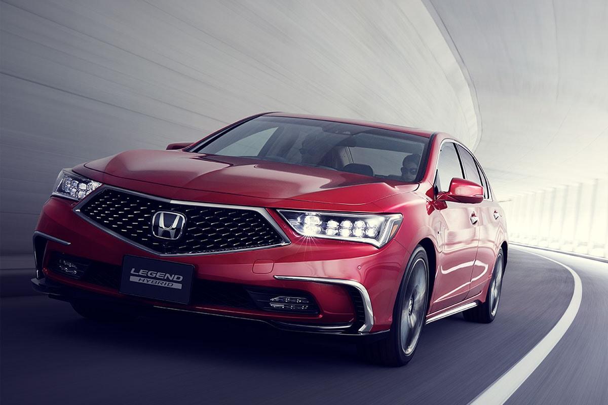 Обзор автомобиля Honda Legend 2018