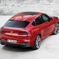 20154 Обзор автомобиля BMW X4 2019 года