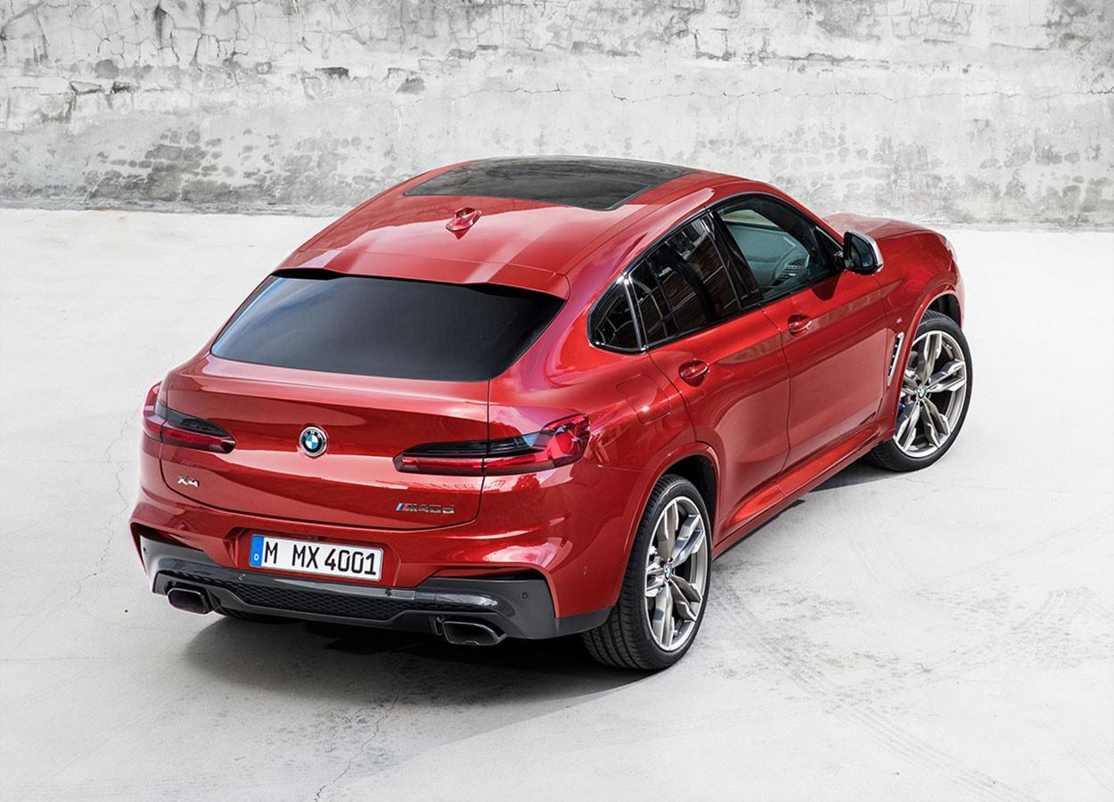 Обзор автомобиля BMW X4 2019 года
