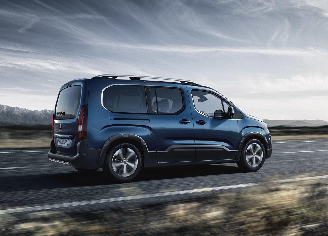 Обзор автомобиля Peugeot Rifter 2019 года