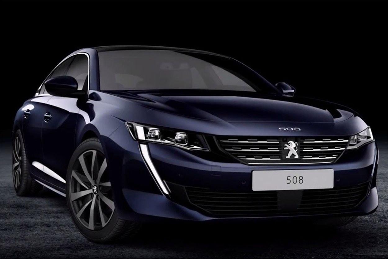20173 Обзор автомобиля Peugeot 508 2018 года