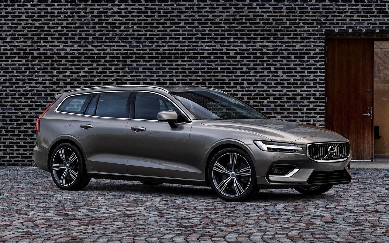 Обзор автомобиля Volvo V60 2019 года