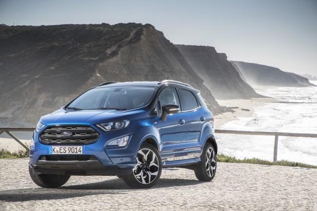 Ford EcoSport. Урбанизация. Ford EcoSport
