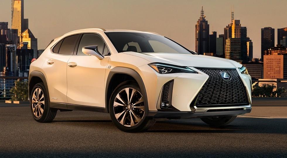 20122 Lexus рассекретил внешность нового кроссовера UX до премьеры