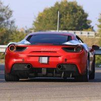 20018 Самый мощный в истории Ferrari с двигателем V8 показали на видео