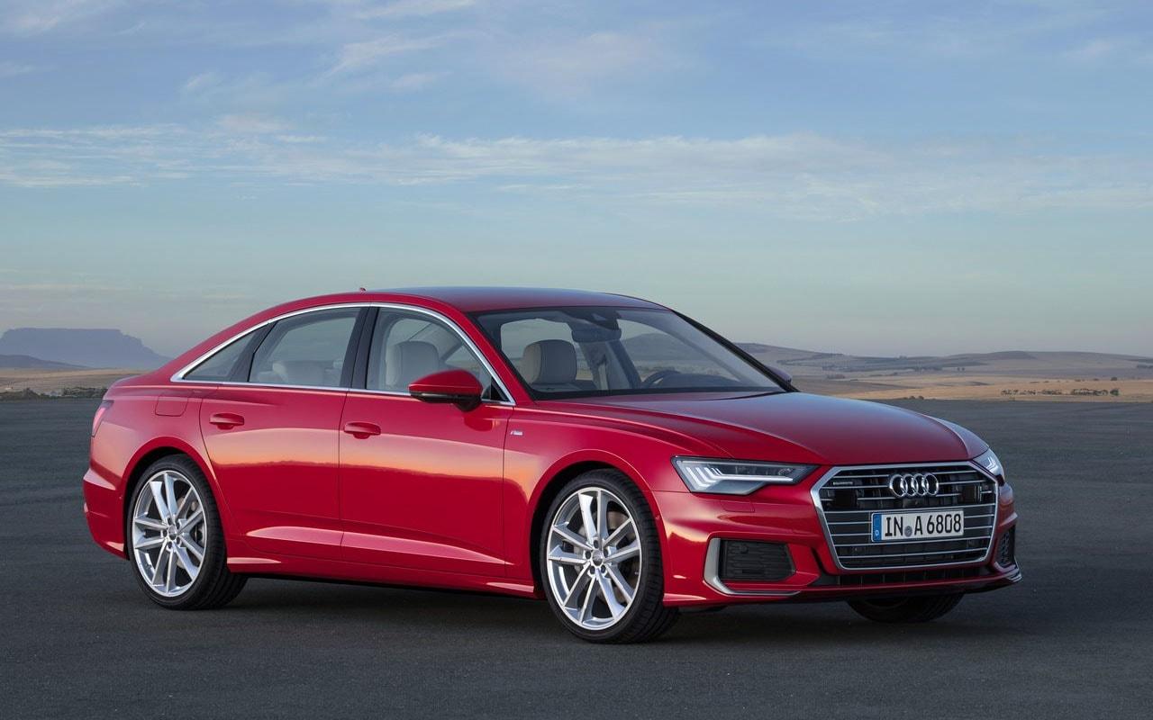 20230 Обзор автомобиля Audi A6 2019