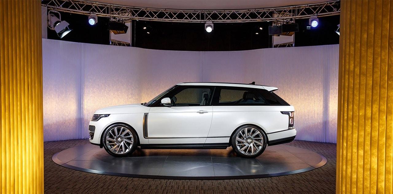 Обзор автомобиля Range Rover SV Coupe 2019