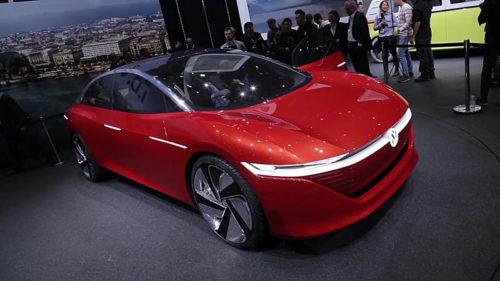20306 Обзор автомобиля Volkswagen ID Vizzion Concept 2018 года
