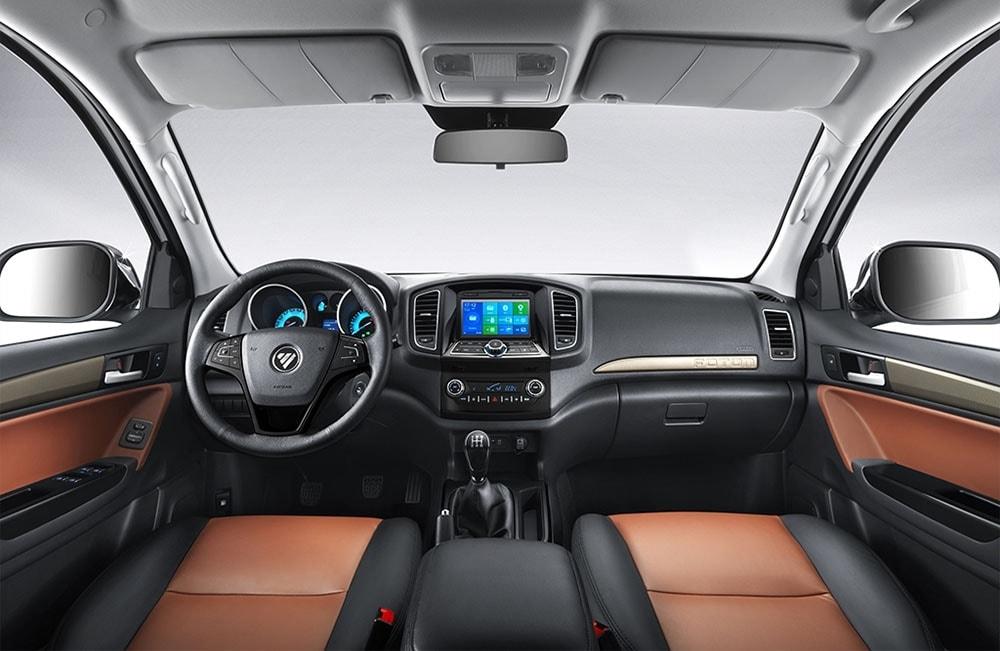 Обзор автомобиля Foton Tunland 2019