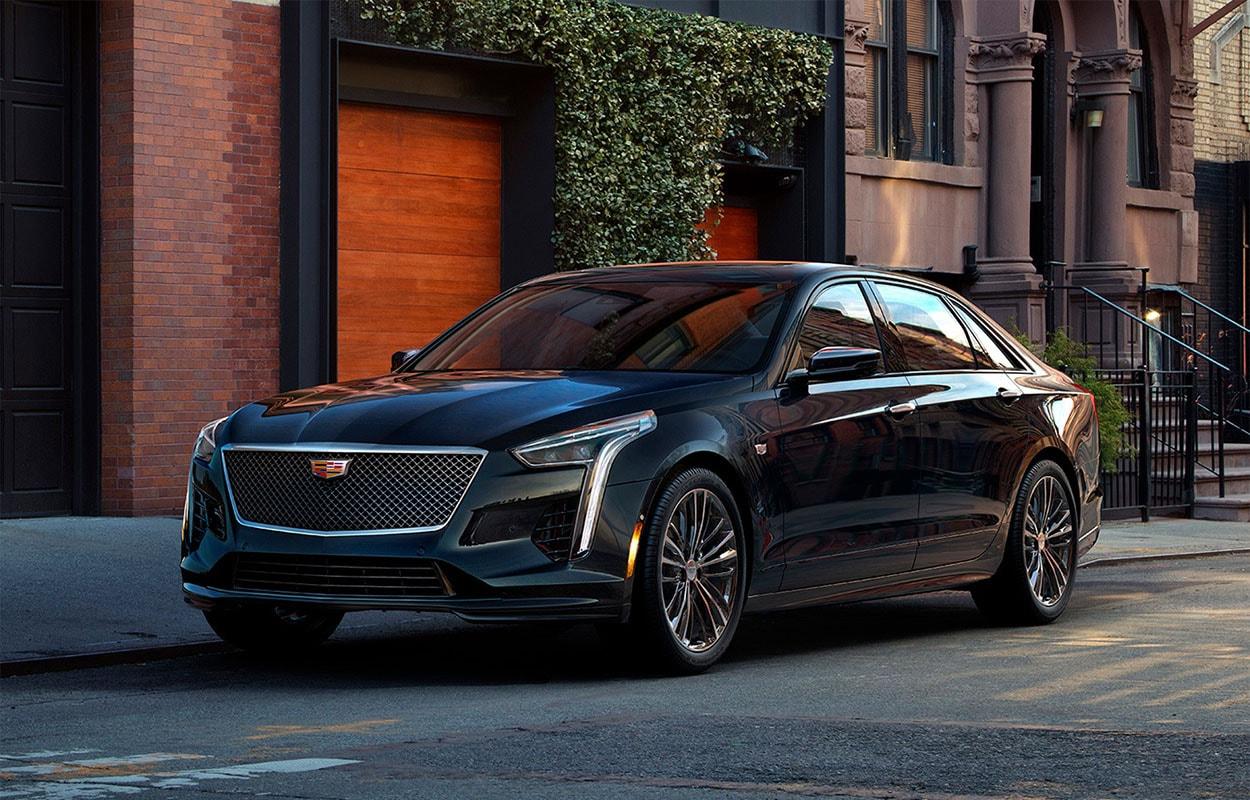 20467 Обзор автомобиля Cadillac CT6 (V-Sport) 2018-2019