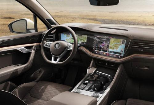Обзор автомобиля Volkswagen Touareg 2018-2019