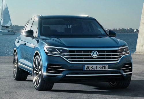20483 Обзор автомобиля Volkswagen Touareg 2018-2019