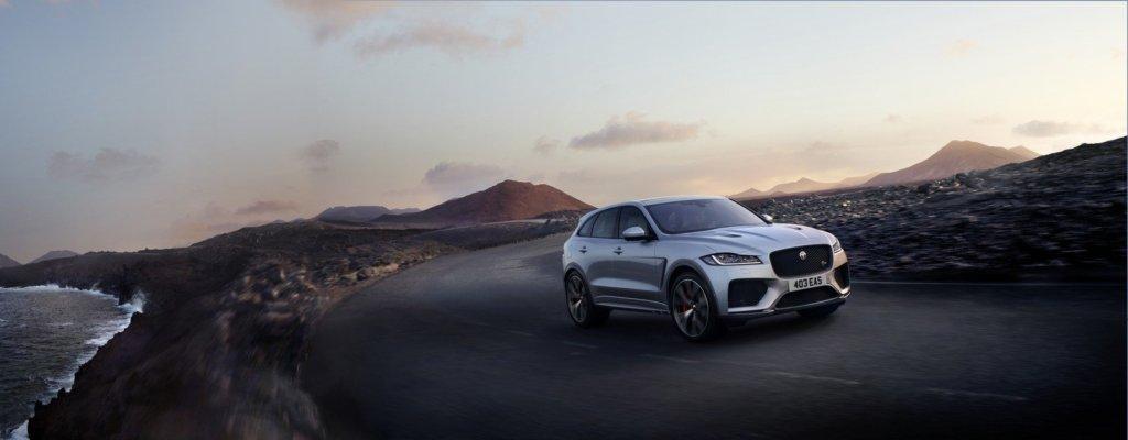 20524 Берегись, Cayenne! Jaguar представил 550-сильный F-PACE SVR