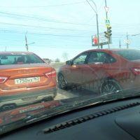20447 Lada Vesta Cross Sedan: первые фото без камуфляжа