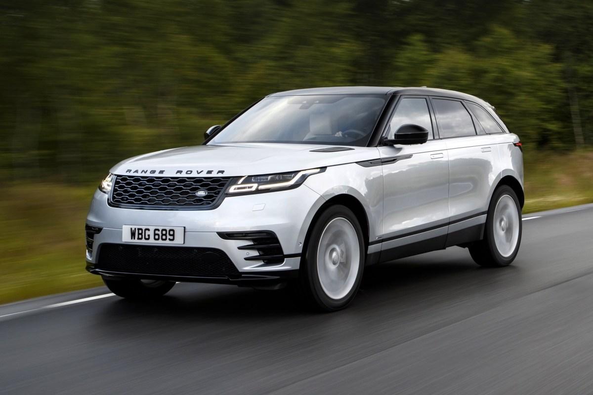 Range Rover Velar. Серийный концепт-кар. Land Rover Range Rover Velar