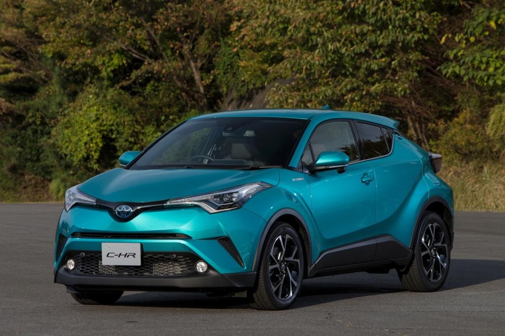 20225 В России Toyota C-HR покажут экстремально