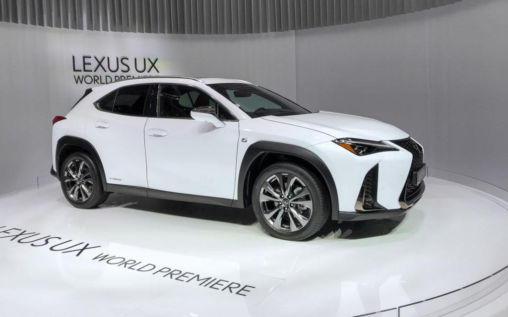20281 Встречаем самый компактный кроссовер Lexus UX