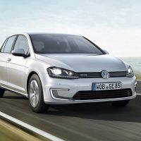 20534 VW e-Golf. Учимся заряжать электромобиль. Volkswagen e-Golf