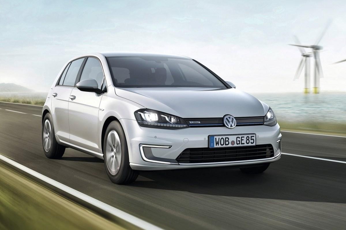 VW e-Golf. Учимся заряжать электромобиль. Volkswagen e-Golf