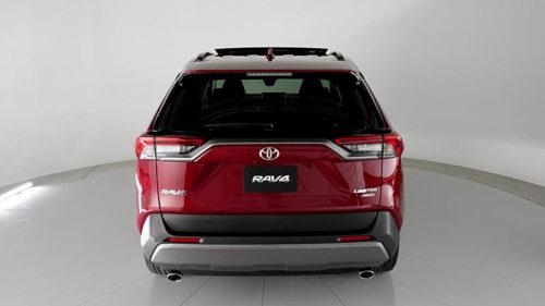 Обзор автомобиля Toyota RAV4 2019