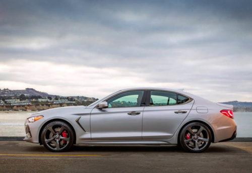 Обзор автомобиля Genesis G70 2019 Sedan 2019