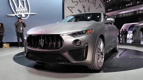 20645 Обзор автомобиля Maserati Levante Trofeo 2019
