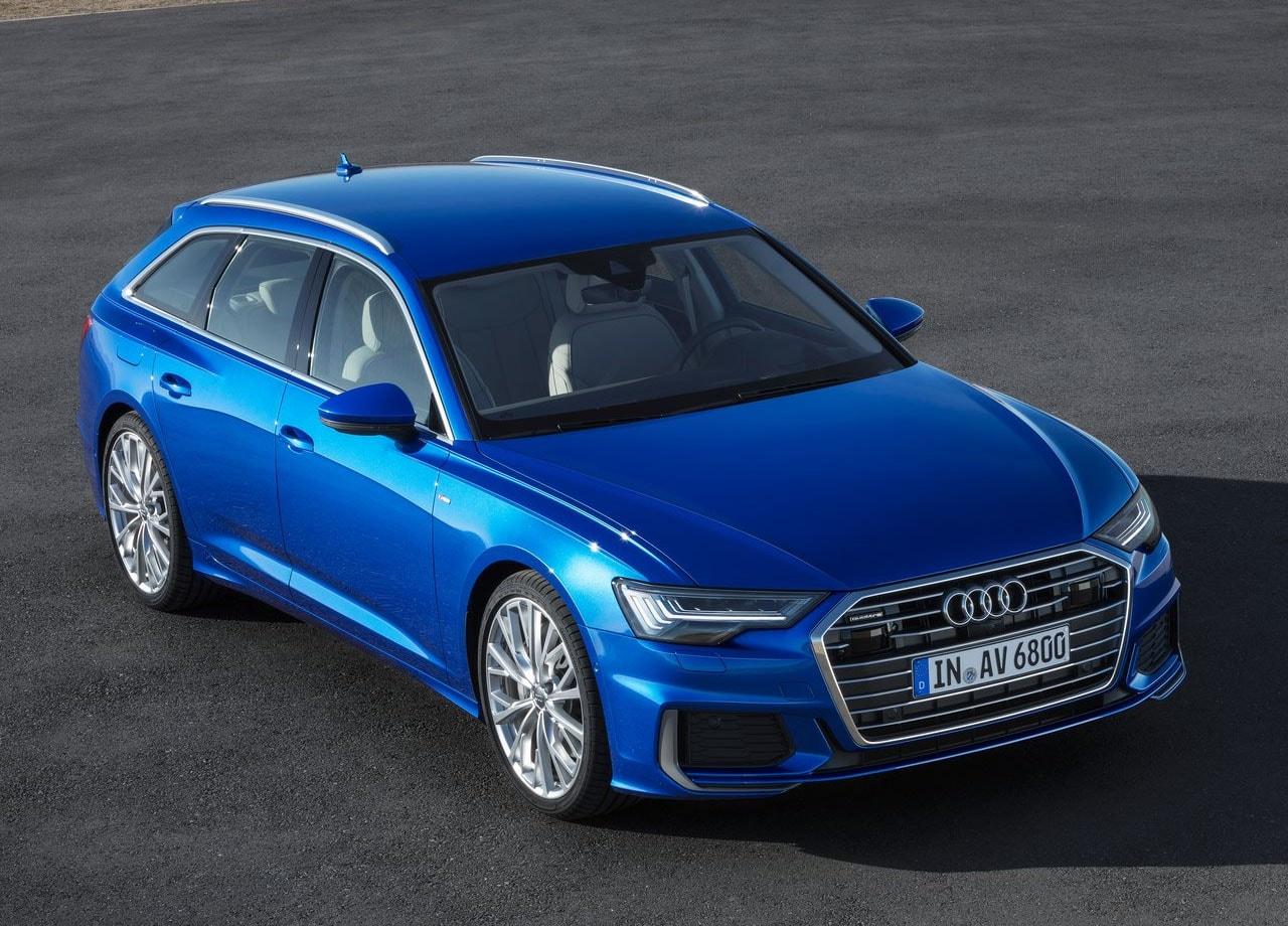 Обзор автомобиля Audi A6 Avant 2019