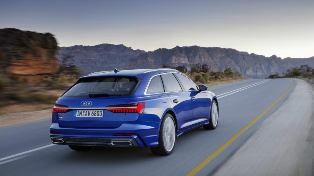 Audi официально рассекретила универсал A6 Avant