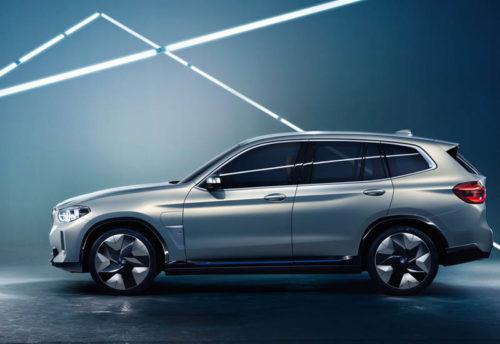 Обзор автомобиля BMW iX3 Concept 2018