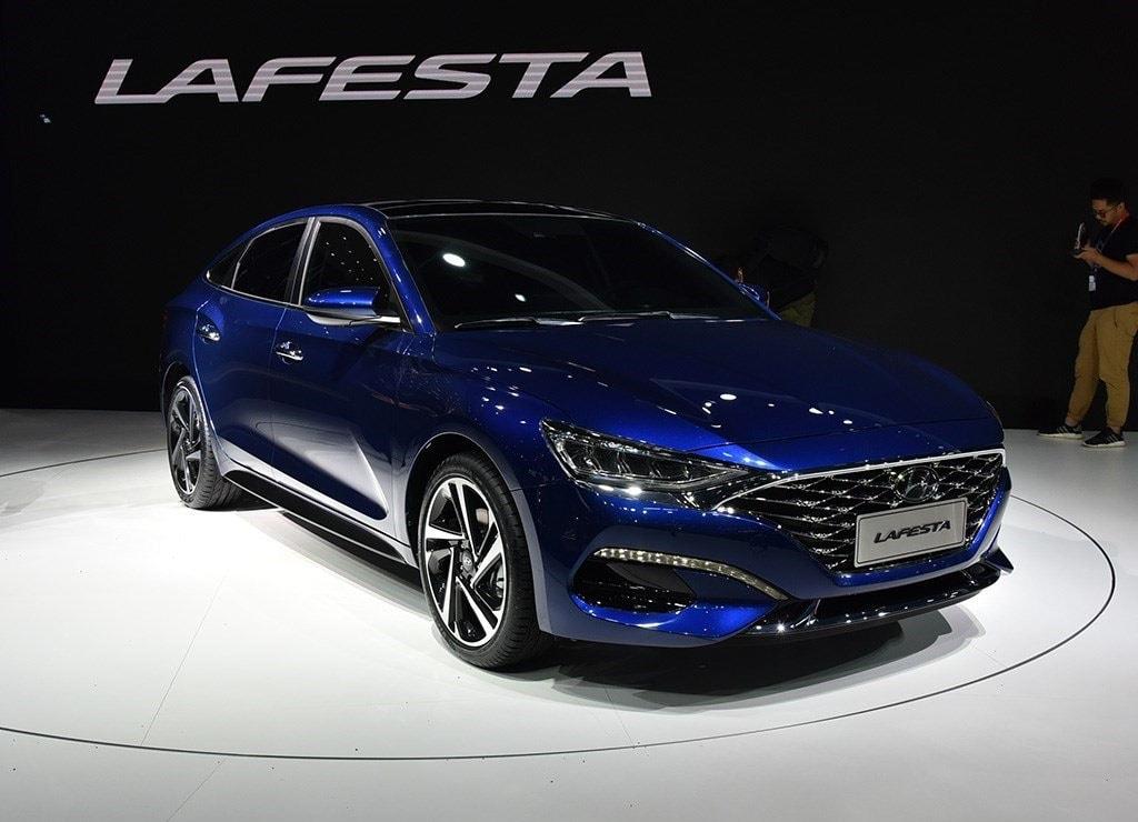 Обзор автомобиля Hyundai Lafesta 2018