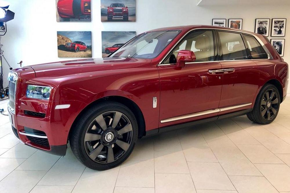 Обзор автомобиля Rolls-Royce Cullinan 2018