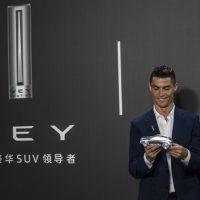 20932 Криштиану Роналду будет рекламировать новые китайские кроссоверы Wey