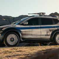 20928 Nissan превратил X-Trail в звездолет Хана Соло
