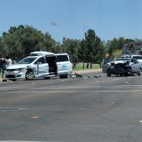 20865 В США еще один беспилотник попал в аварию (видео)